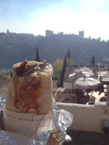 Shawarma, Alhambra Behind